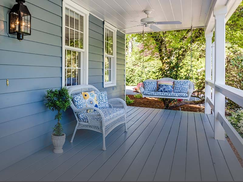 residential porch and deck inspection